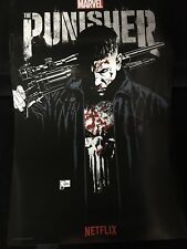 SDCC 2017 MARVEL NETFLIX EXCLUSIVE PUNISHER POSTER DAREDEVIL COMIC-CON