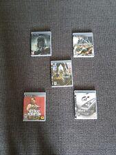lot de 5 JEUX PS3 / PLAYS STATION 3  / PLAYSTATION 3