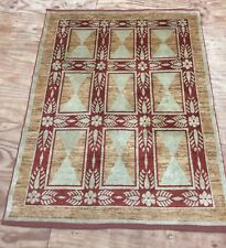 Vintage  Contemporary Design Hand Woven Rug