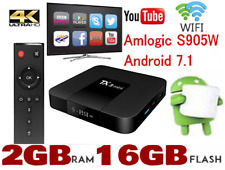 TX3 Mini 2GB+16GB Android 7.1 Quad Core TV Box 17 HD Media Player Wifi UK 2018