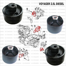 Chrysler Voyager 2.5L - four bush to repair four Engine mount (1996-2000)