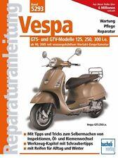 REPARATURANLEITUNG Band 5293 Vespa GTS u GTV-Modelle 125, 250, 300 ab 2005