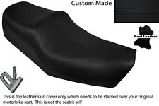 BLACK STITCH CUSTOM FITS HONDA CM 125 DUAL LEATHER SEAT COVER ONLY