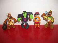 Lot 4 Figurines Scooby doo Chien Véra figure Hanna Bartbera 6cm