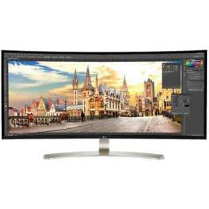 "LG 38 Inch Monitor 21:9 UltraWide WQHD + IPS Curved LED 38"" Monitor 38UC99W"
