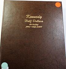 Kennedy Half Dollar Set Proof Complete Thru 2010- S Dansco Folder 8166 (A)