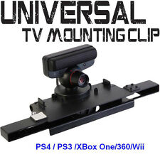 New TV Mounting Clip Storage Holder for  PS4 /PS3  XBox One/360  Wii /Wii U bar