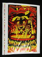 1977 Concert Poster 2nd Halloween Party Moby Grape Jim Philips AP-50 Proof