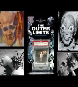 1964 A&BC Outer Limits TRANSPARENT CREATURE #3 NM-MINT 8 - Vintage garno PSA