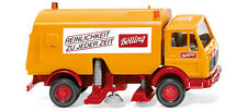 WIKING HO scale ~ MERCEDES BENZ STREET SWEEPER ~ assembled PLASTIC SCALE MODEL!