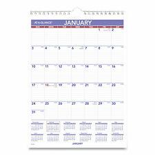 AT-A-GLANCE Monthly Wall Calendar With Ruled Daily Blocks 8 X 11 White 2021
