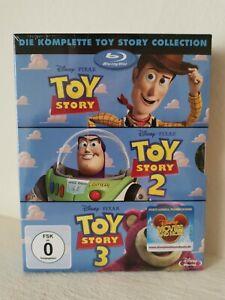 Toy Story 1 / Toy Story 2 / Toy Story 3 ## Blu-ray ## NEU ## OVP ##