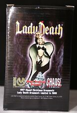 Lady Death Ornaments: Limeted to 3000