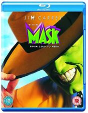 THE MASK BLU RAY Jim Carrey Cameron Diaz Chuck Russell Original UK Rele New R2