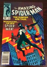 AMAZING SPIDER-MAN #252 1ST APPEARANCE BLACK SYMBIOTE COSTUME (MARVEL,1984)  VF