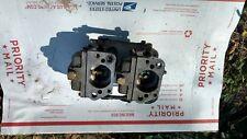 Mercury Outboard Thunderbolt  50 65 HP Carburetors 1379-9450, WM18 Top and Bott