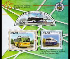 Kirgizië / Kyrgyzstan - Postfris / MNH - Sheet 65 years Trolleybus 2016