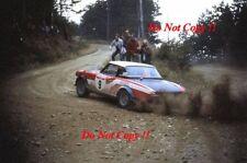 Alcide Paganelli Fiat 124 Abarth Rallye San Remo Rally 1973 Photograph 2
