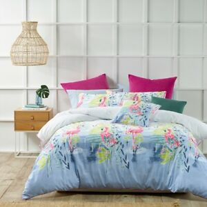 Bianca Lagoon Quilt Cover Set Pink