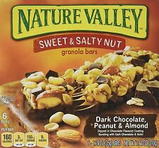 Nature Valley Granola Bars, Sweet and Salty Nut, Dark Chocolate Peanut & Almond,