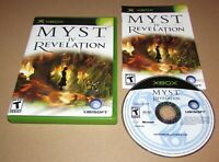 Myst IV: Revelation for Microsoft Xbox Complete Fast Shipping