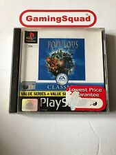 Populous The Beginning (Value) PS1 Playstation, Supplied by Gaming Squad Ltd