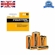 Duracell Industrial  AA, AAA, C, D, 9V Alkaline Professional Performance Battery