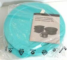 TUPPERWARE New CRYSTALWAVE PLUS DIVIDED DISH CONTAINER with Stain Guard BPA Free