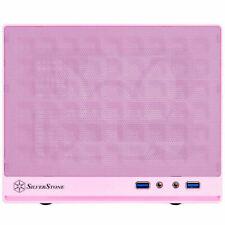 Silverstone SG13P-USA Pink Mini-DTX/Mini-ITX Sugo Small Form Factor Case