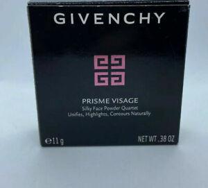 Givenchy Prisme Visage Silky Face Powder Quartet - # 5 Soie Abricot 11g/0.38oz