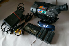 Sony Handycam CCD-TR511E Video8 XR Camera with Tape, Batteries and Accessories