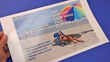 100 sheets Lightweight Inkjet Photo Glossy Paper 8.5 x 14 Legal Size #8504JG