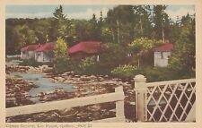 Camps Gerard LAC PAUZÉ Mont-Laurier Laurentides Quebec Canada 1940-50 PECO