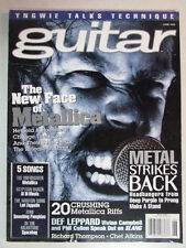 GUITAR MAGAZINE JUNE 1996 THE NEW FACE OF METALLICA YNGWIE TALKS TECHNIQUE + TAB