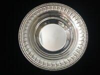 "Vintage Reed & Barton Silverplate 1202 Serving Bowl, 10"" Diameter x 2 1/4"" High"