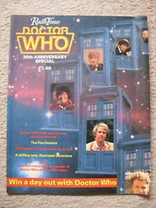 'Doctor Who 20th Anniversary Special' - Radio Times - Large Format Magazine