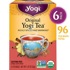 Yogi Tea - Original Yogi Tea - Richly Spiced and Warming - 6 Pack, 96 Tea Bags