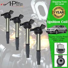 4x Ignition Coils for Toyota Prius NHW20 1.5L ZVW30 ZVW40 1.8L Lexus CT200h 1.8L