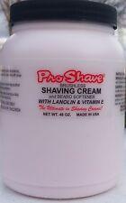 Pro-Shave Shaving Cream & Beard Softener 48Oz Brushless w/Lanolin & Vitamin E