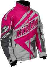 Womens Size XL Castle X Launch Snowmobile Jacket Gray Magenta Pink Ladies Coat
