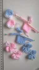 Christening New Baby Card / Boy Card Embellishments Booties Hats Jumpers