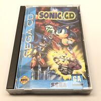 Sonic CD (Sega CD, 1993) Complete CIB Long Box