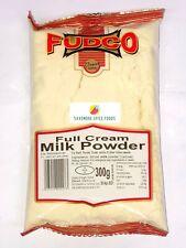 FULL CREAM MILK POWDER - WHOLE MILK POWDER - LONGLIFE MILK - FUDCO - 300g