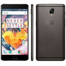 OnePlus 3T (Dual SIM) - Grey - 64GB - 4G LTE (Unlocked) Smartphone - Grade A