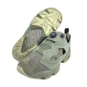 Reebok InstaPump Fury MTP Hunter Green OG Sneakers Suede BD1501 Size 10