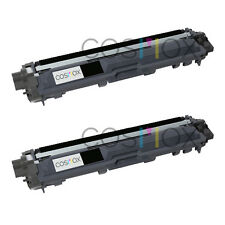 2 pk TN221 Compatible Black Toner for Brother MFC-9130CW MFC-9330CDW MFC-9340CDW