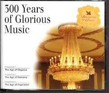 Readers Digest 300 Years of Glorious Music 3-Disc Set & Booklet