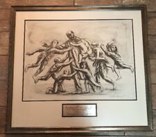 Nathan Rapoport 1911–1987 Korchak (With Orphans Of Warsaw) Signed 50/100 Litho