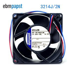 Ebmpapst 3214J/2N 24V 0.27A 6.5W 92*92*38 ABB Inverter Cooling Fan