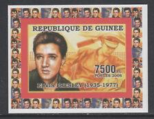 Guinea 5737 - 2006 ELVIS PRESLEY #2  imperf deluxe sheet unmounted mint